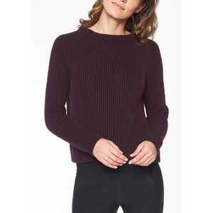 NWT Athleta Rockland Aubergine Sweater